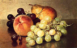 15092014-Robert-Spear-Dunning-Still-Life-with-Peach-Pear-and-Grapes.JPG