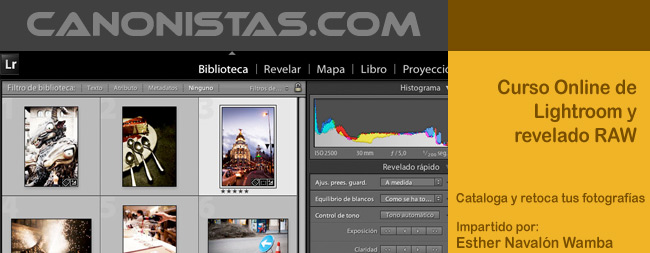Curso Online de Lightroom y revelado RAW